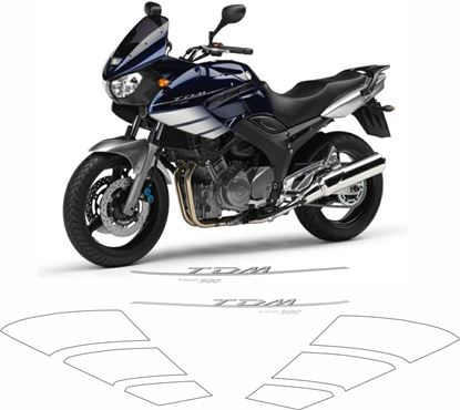 Picture of Yamaha TDM 900, 2006 - 2008  Replacement Decals / Stickers