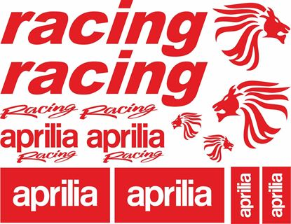 Picture of Aprilia Racing Decals / Stickers  kit