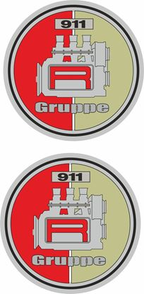 Picture of 911 R GRUPPE  general panel Decals /  Stickers
