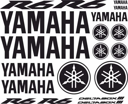 Picture of Yamaha R6 2004 - 2007 Decals / Sticker kit