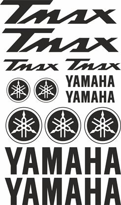 Picture of Yamaha Tmax  Decals / Sticker kit