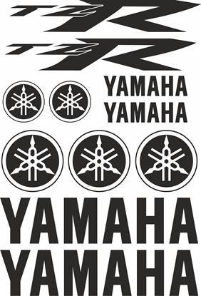 Picture of Yamaha TZR 50 2004 - on  Decals / Stickers kits
