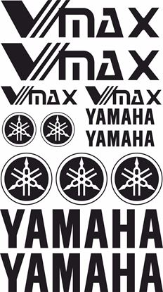 Picture of Yamaha V-MAX  1985 - 2007 Decals / Sticker kit