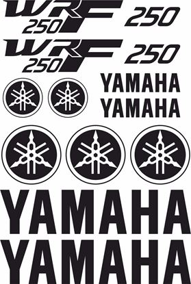 Picture of Yamaha WRF 250 Decals / Sticker kit