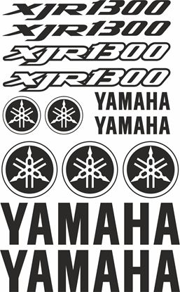 Picture of Yamaha XJR1300 1998 - 2014 Decals / Sticker kit