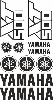 Picture of Yamaha XT500 1976 - 1989 Decals / Sticker kit