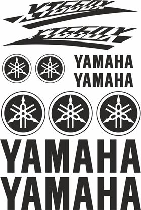 Picture of Yamaha XT660X Decals / Sticker kit