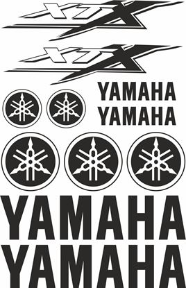 Picture of Yamaha XTX Decals / Sticker kit