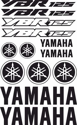 Picture of Yamaha YBR 125 Decals / Sticker kit
