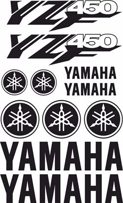 Picture of Yamaha YZ450F Decals / Sticker kit