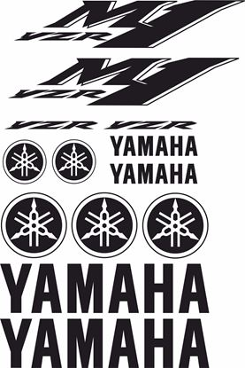 Picture of Yamaha YZF-M1 Decals / Sticker kit