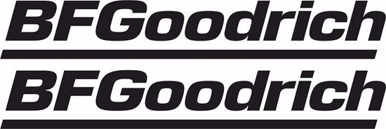 "Picture of ""BF Goodrich"" Track and street race sponsor logo"