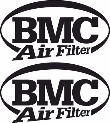 "Picture of ""BMC Air Filters"" Track and street race sponsor logo"