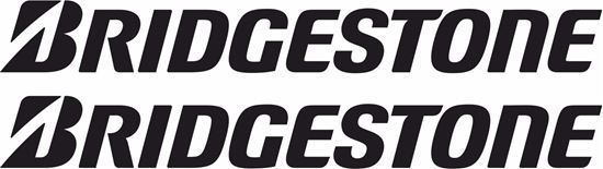 "Picture of ""Bridgestone"" Track and street race sponsor logo"