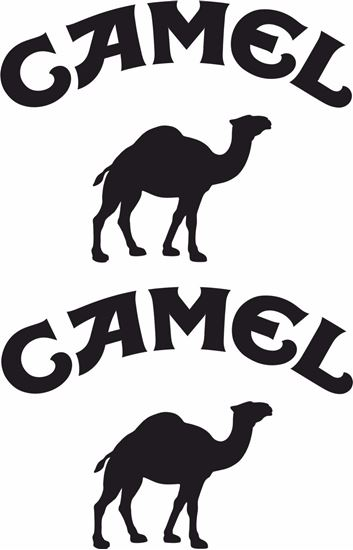 """Picture of """"Camel"""" Track and street race sponsor logo"""
