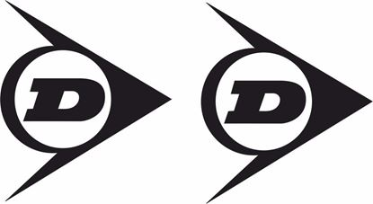 "Picture of ""Dunlop"" Track and street race sponsor logo"