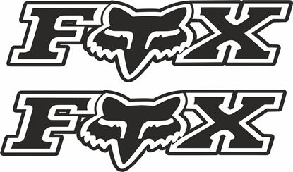 "Picture of ""Fox"" Track and street race sponsor logo"