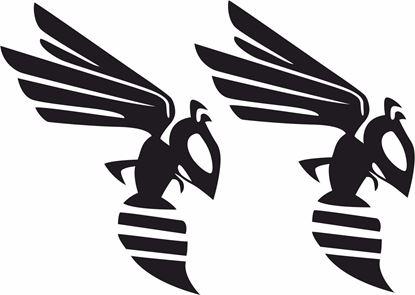 """Picture of """"Frelon Hornet"""" Track and street race sponsor logo"""