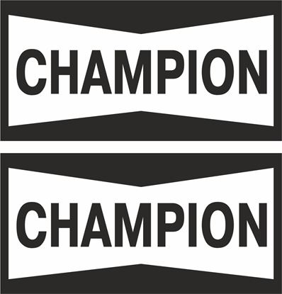 "Picture of ""Champion"" Track and street race sponsor logo"