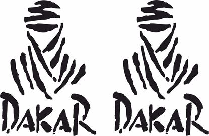 "Picture of ""Dakar"" Track and street race sponsor logo"