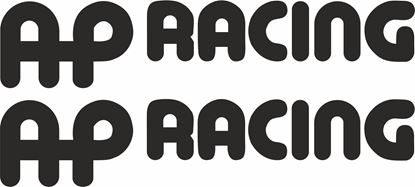 "Picture of ""AP Racing"" Track and street race sponsor logo"