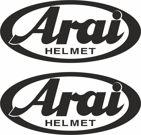 "Picture of ""Arai"" Track and street race sponsor logo"