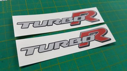 "Picture of Daihatsu YRV  2000 - 2005 ""Turbo R"" Decals / Stickers"