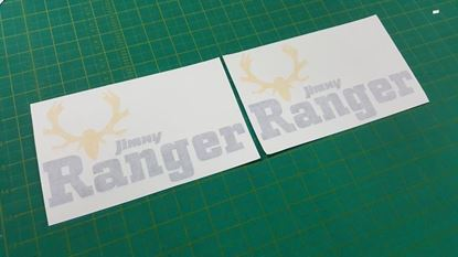 "Picture of Suzuki ""Jimny  Ranger"" Decals / Stickers"