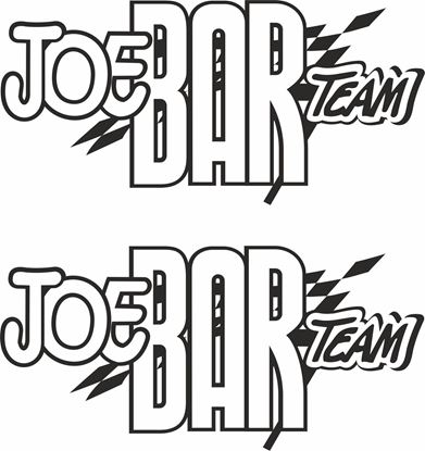 "Picture of ""Joe Bar Team"" Track and street race sponsor logo"