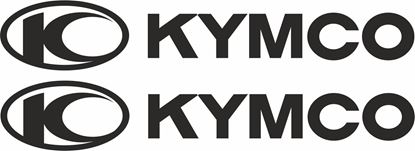 """Picture of """"Kymco"""" Track and street race sponsor logo"""