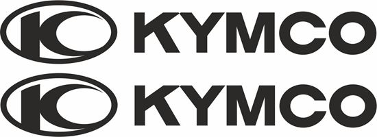 "Picture of ""Kymco"" Track and street race sponsor logo"