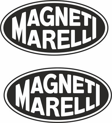 """Picture of """"Magneti Marelli"""" Track and street race sponsor logo"""