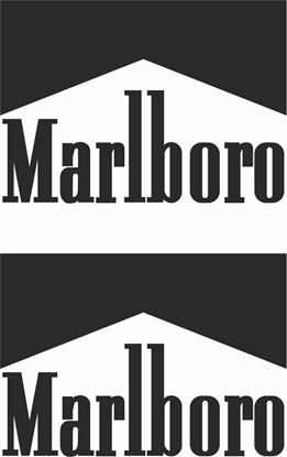 """Picture of """"Marlboro"""" Track and street race sponsor logo"""