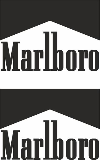 "Picture of ""Marlboro"" Track and street race sponsor logo"