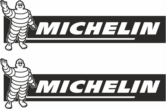 """Picture of """"Michelin"""" Track and street race sponsor logo"""