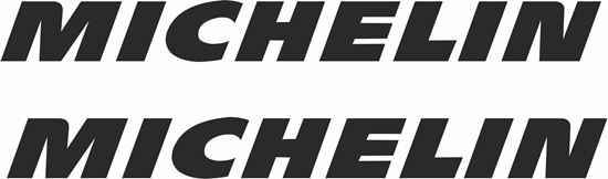 "Picture of ""Michelin"" Track and street race sponsor logo"