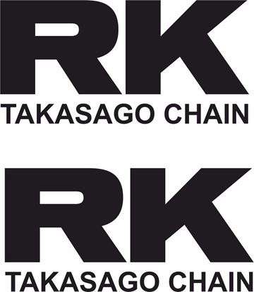 """Picture of """"RK Takasago Chain"""" Track and street race sponsor logo"""