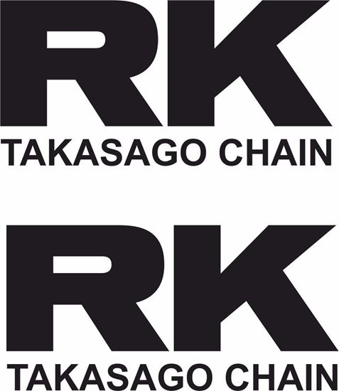 "Picture of ""RK Takasago Chain"" Track and street race sponsor logo"