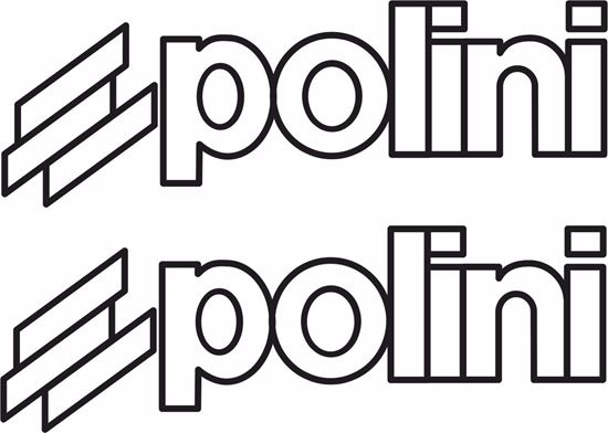"Picture of ""Polini"" Track and street race sponsor logo"