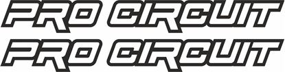 "Picture of ""Pro Circut"" Track and street race sponsor logo"