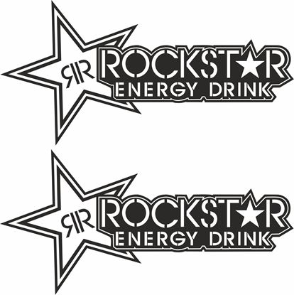 "Picture of ""Rockstar Energy Drink"" Track and street race sponsor logo"