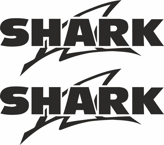 "Picture of ""Shark"" Track and street race sponsor logo"