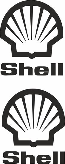 """Picture of """"Shell"""" Track and street race sponsor logo"""