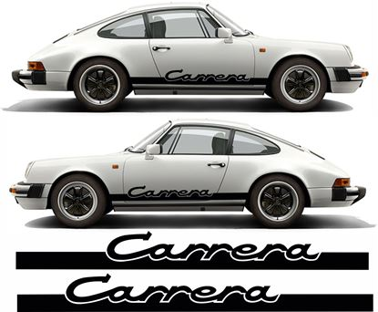 "Picture of Porsche 911 Classic ""Carrera"" side Stripes / Stickers"