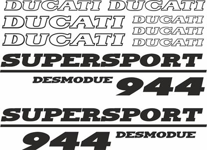 Picture of Ducati 944 Desmodue Decals / Stickers kit