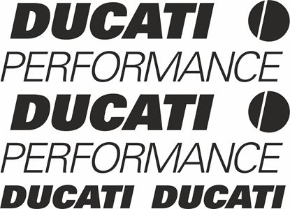Picture of Ducati Performance Decals / Stickers kit