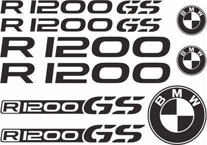 Picture of BMW R 1200 GS  Decals / Stickers kit
