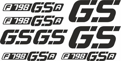 Picture of BMW F 798 GSA Decals / Stickers kit