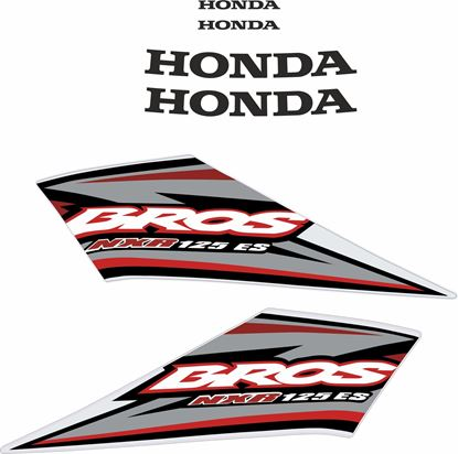 Picture of Honda Bros NXR125 KS Replacement Decals / Stickers