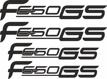 Picture of BMW F 650 GS  Decals / Stickers kit
